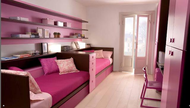 дизайн комнаты для подростка девочки, дизайн комнаты для двух подростков фото