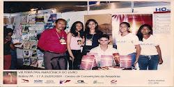 Lançamento do Livro Um Louco Desejo em 2004 em Belém