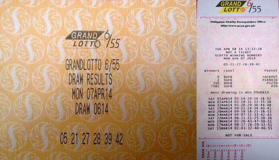 Pcso lotto new prizes
