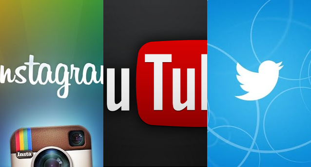 Smartphone Weave: YouTube, Twitter and Instagram for ...