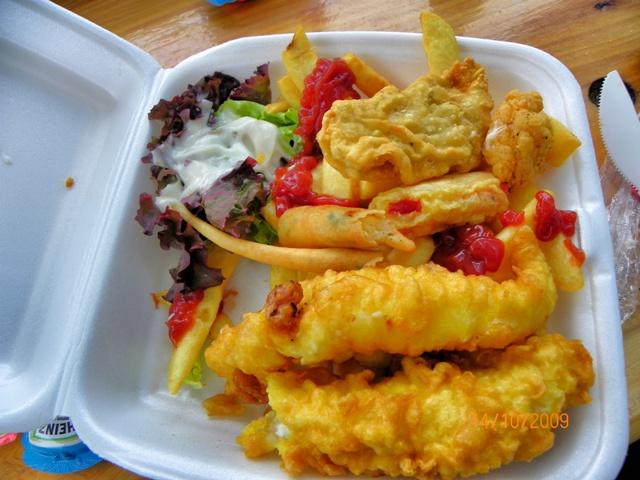 Akaroa fish and chips