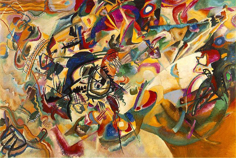 Composition VII, (1913), Kandinsky