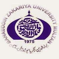 Bahauddin Zakariya University Multan MSc Result 2016, Part 1, Part 2