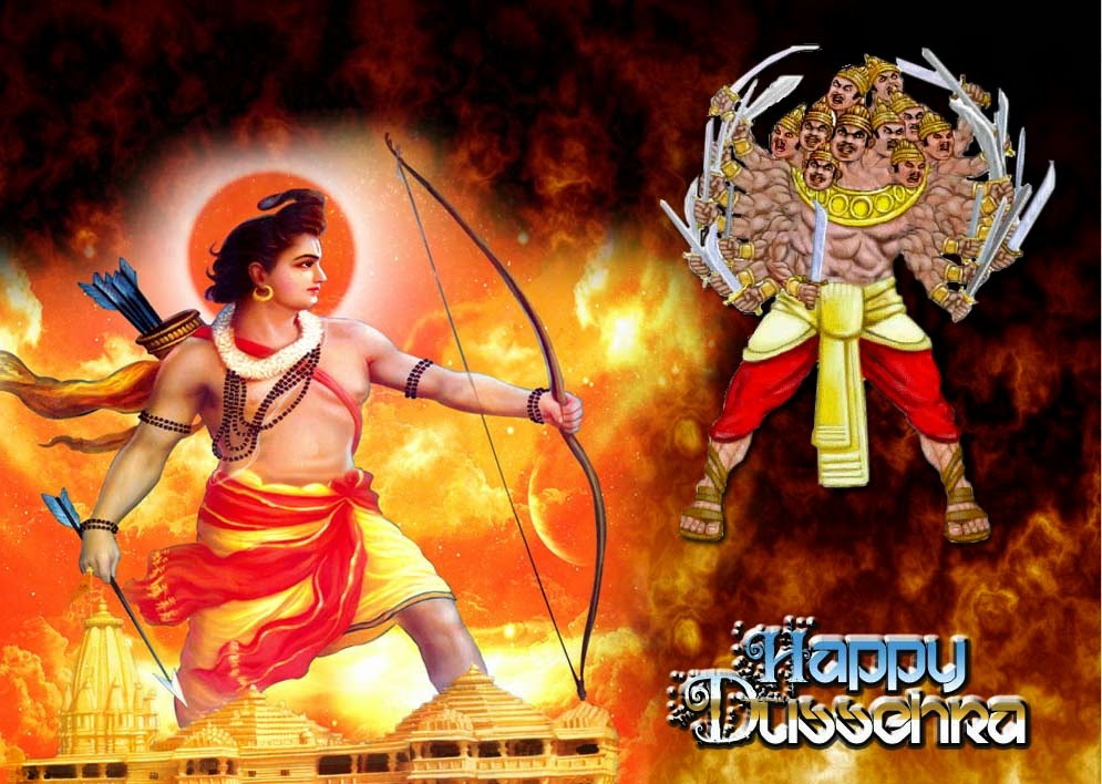 dussehra essay in english