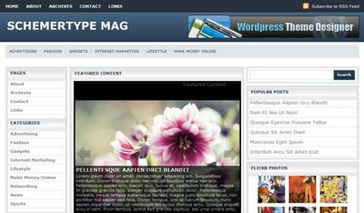 Download Schemertype Mag Free WordPress theme