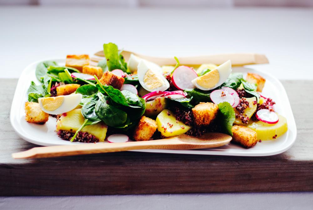 Hungry + Hurry + Healthy, Radish salad, Copyright aldentegourmet blog