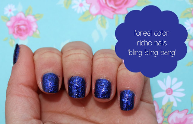 l'oreal bling bling bang swatch review