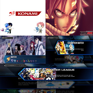 All Mods Graphics Fairy Tail PES 2013 by NoFree