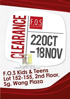 F.O.S Clearance Sale