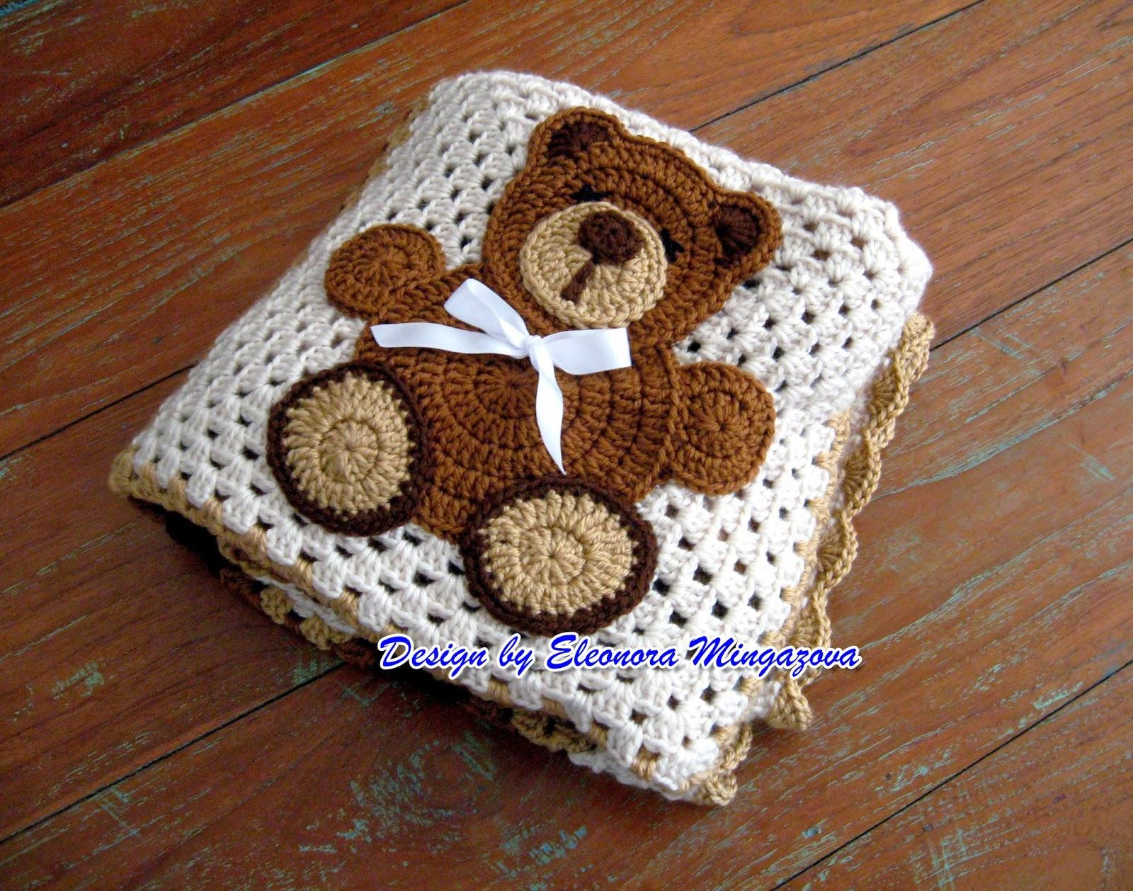 Free Crochet Patterns Teddy Bear Blanket : Love Crochet: March 2014 Crochet Pinterest Crochet ...