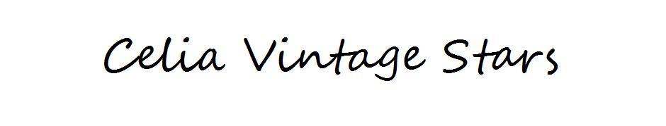 ✩Celia Vintage Stars✩