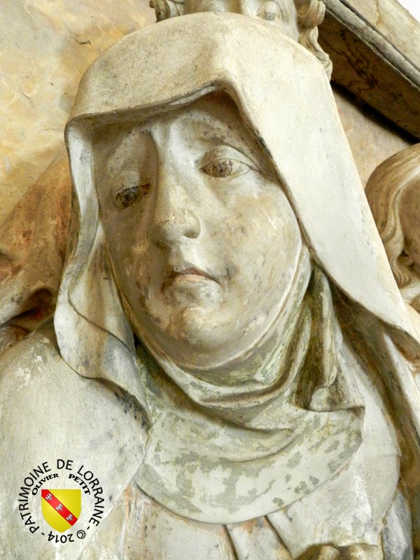 DOMJULIEN (88) - Mise au tombeau (XVIe siècle)