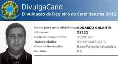 Cuidado com o candidato Eduardo Galante - 31222