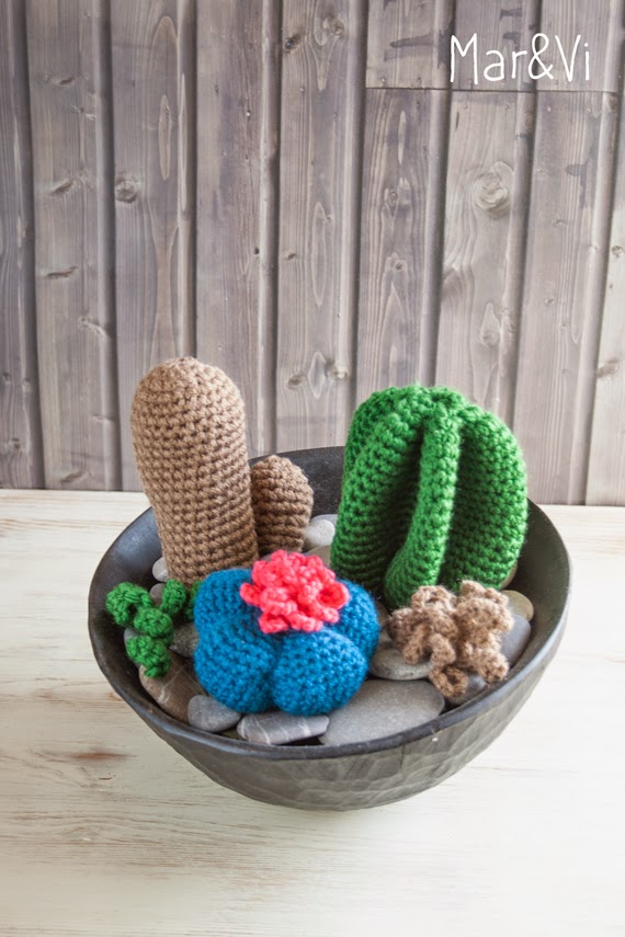 Mar&Vi Blog: Cactus a uncinetto