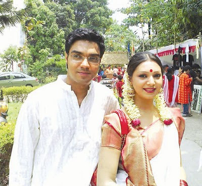 Bangladeshi model prova with rajib