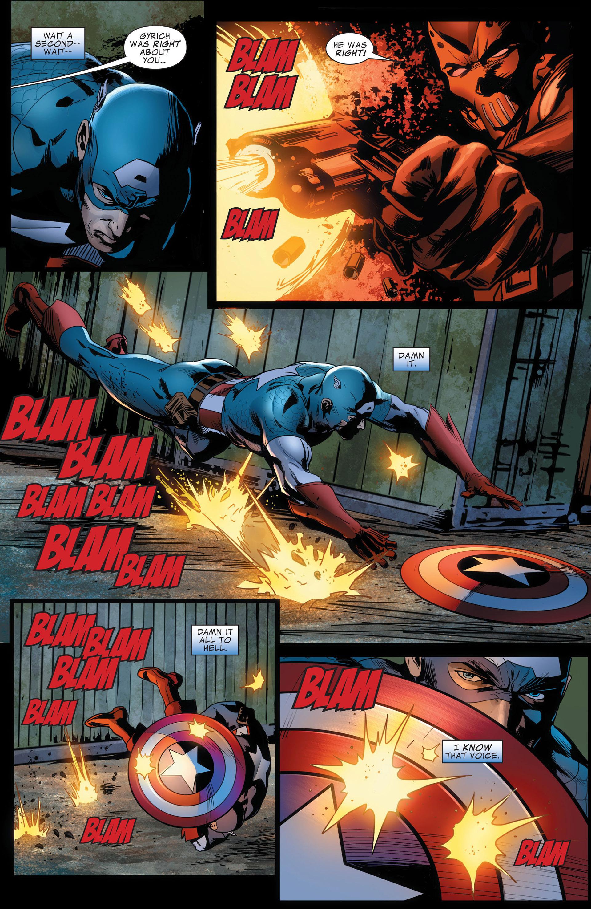 Captain America (2011) Issue #14 #14 - English 9