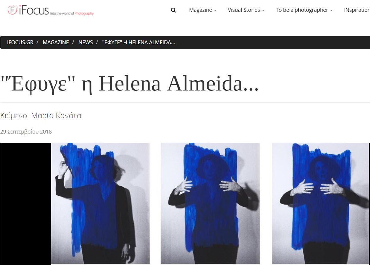 text for Helena Almeida