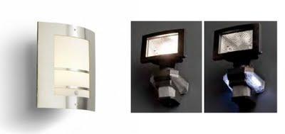 Lamparas g iluminacion y dise o iluminacion exterior y de - Lamparas con detector de presencia ...
