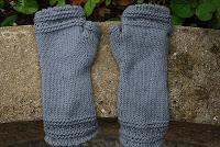tricot mitaines laine coton phildar simples