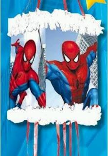 Piñatas del Hombre Araña para Fiestas Infantiles