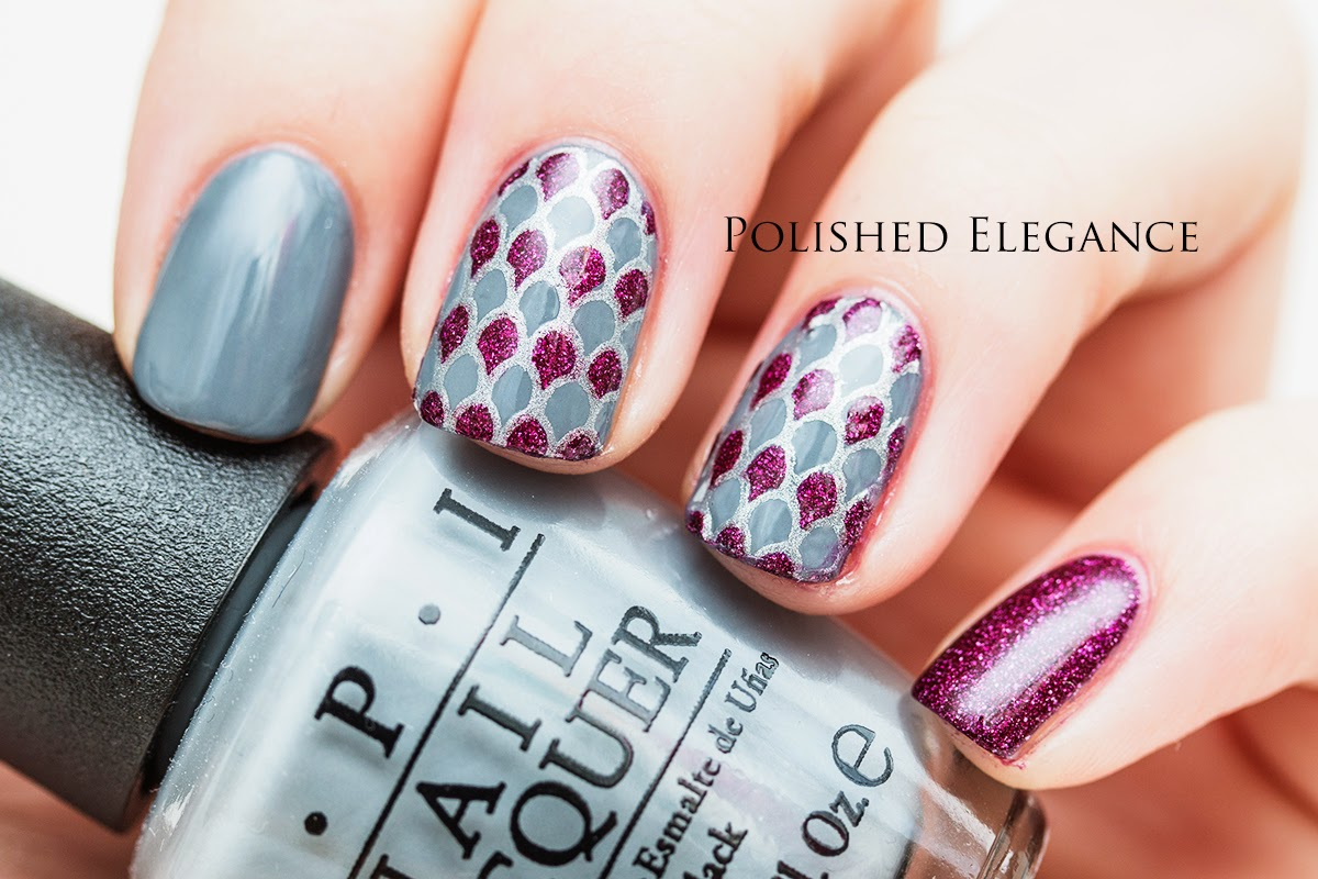 Nail art stamping decal full nail tutorial