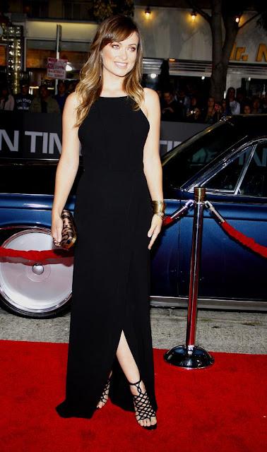 Olivia Wilde Time Premiere