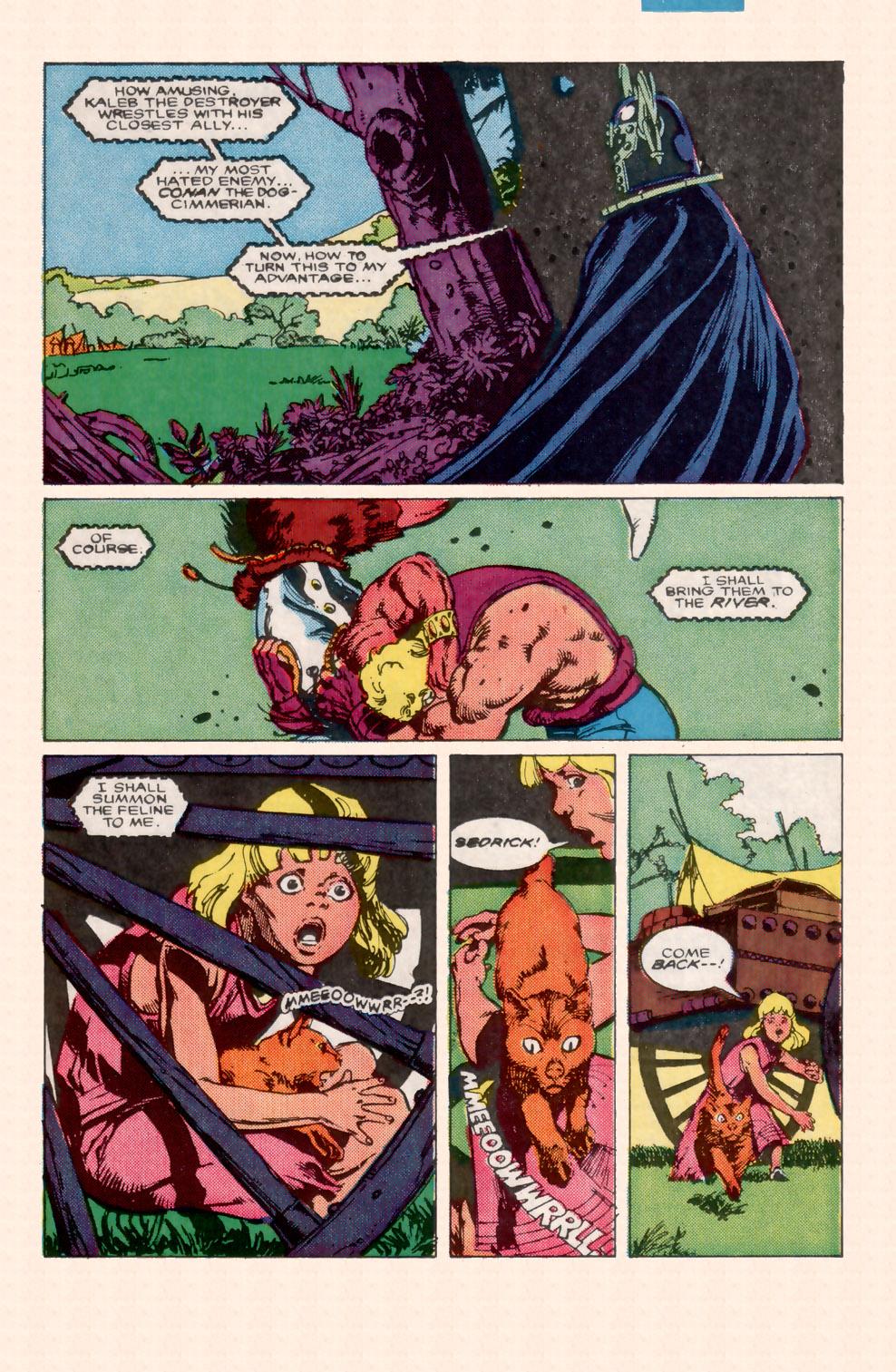 Conan the Barbarian (1970) Issue #199 #211 - English 8