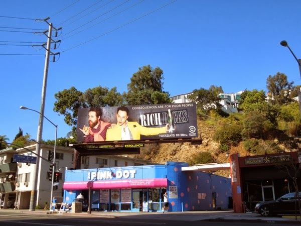 Rich Dicks The Kroll Show season 2 billboard