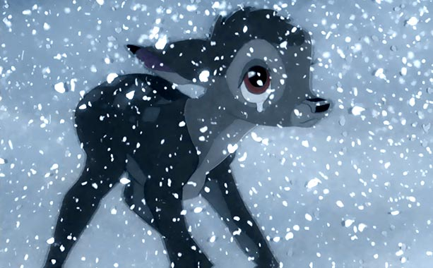 Bambi crying animatedfilmreviews.blogspot.com