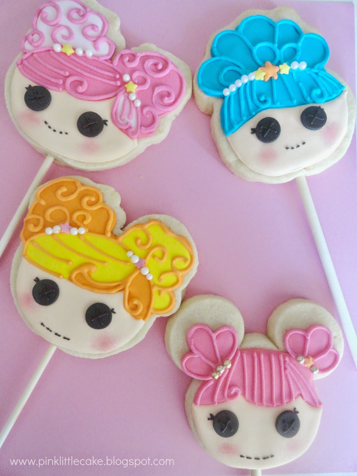Lalaloopsy Mermaid Theme Cookies