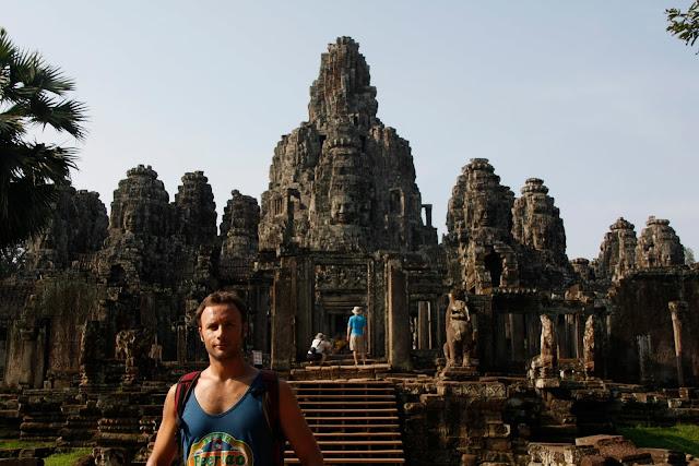 Templo de Bayón, complejo de templos de Angkor.
