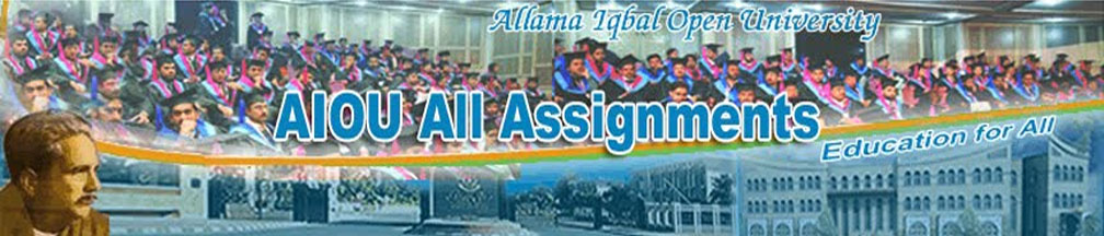 AIOU All  Assignments