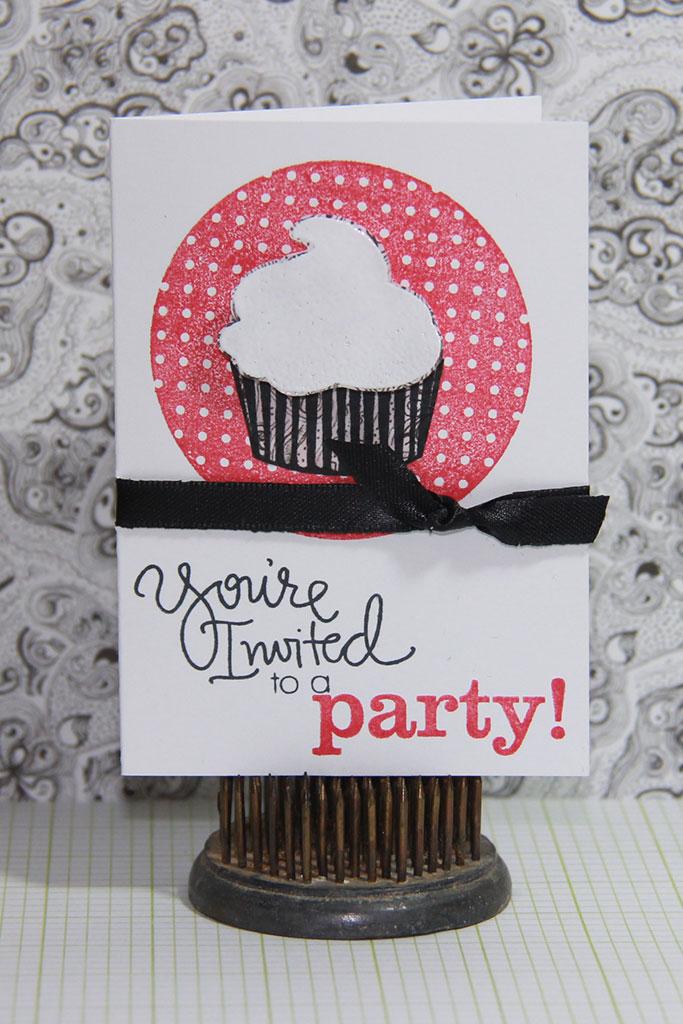 Placecard Cupcake Party Invitation! – CutCardStock