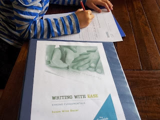 wrtiting curriculum homeschool Australia