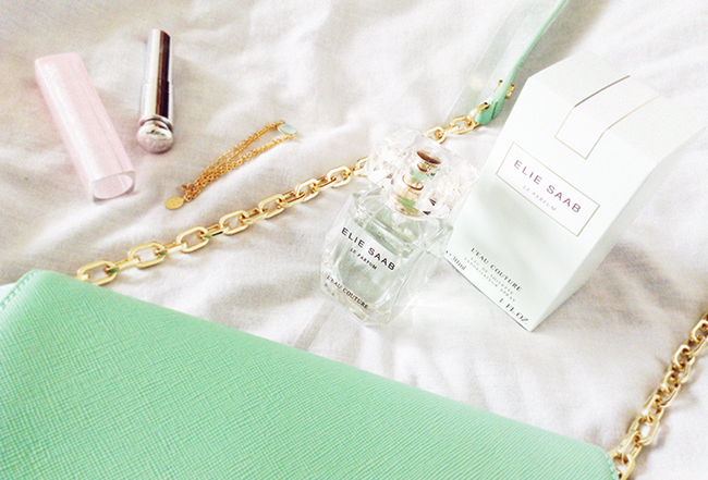 Elie Saab le parfum L'eau Couture perfume aimerose fragrance blog review