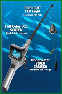 Fish Eyes Fishing Pole