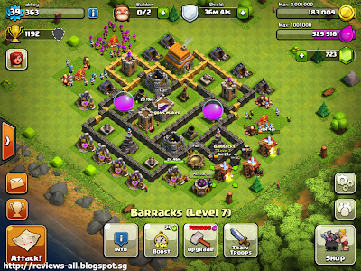 Clash of clans game play clash of clans free online game