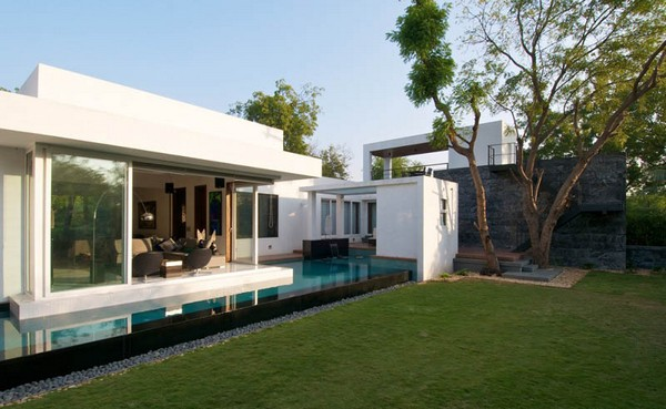 ... house designs in India incorporated the unexpected traditional touch