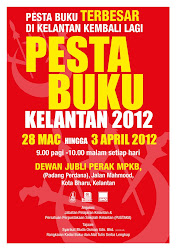 Pesta Buku Terbesar di Kelantan 2012