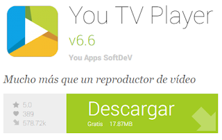 Ver la TV en vivo en Android 2016