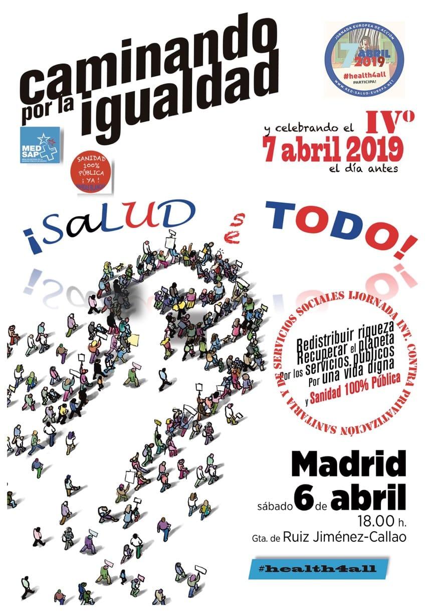 7 de abril: Caminando por la Igualdad