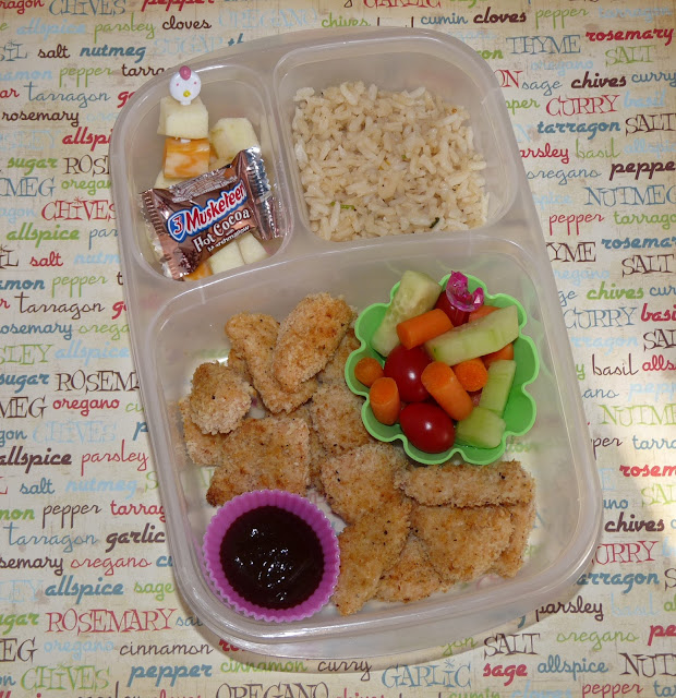 Momables chicken nugget easylunchboxes