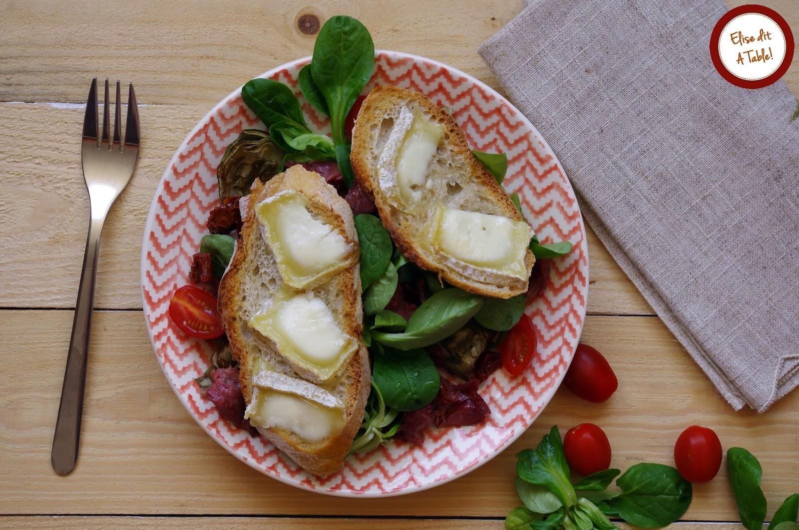 recette salade de gésiers et artichauts