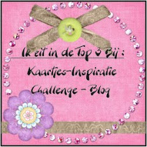 top 3 bij Kaartjes-inspiratie challenges blog.