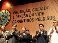 Dilma lança programa para gestantes e bebês e diz que desigualdade é maior na área de saúde