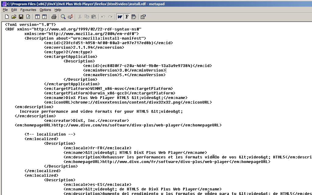 Divx Web Player Firefox Plugin