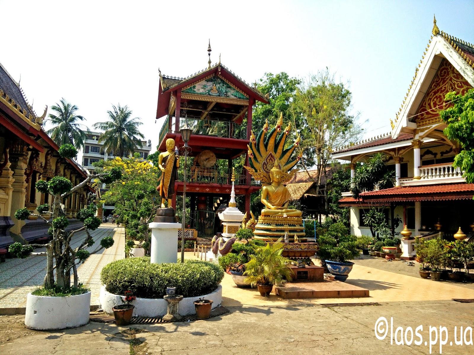Лаоский буддиский храм