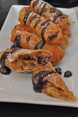 Tummy Temptations: Chocolate Banana Spring Rolls