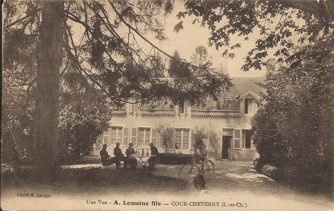 A. Lemoine fils - Cour-Cheverny