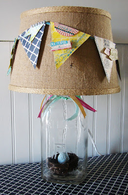 Craft Ideas Lamp Shades on Diy  85 Mason Jar Crafts You Will Love   The Perfect Line